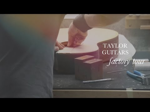 Taylor Guitars Factory Tour (Full Tour)  •  Wildwood Guitars