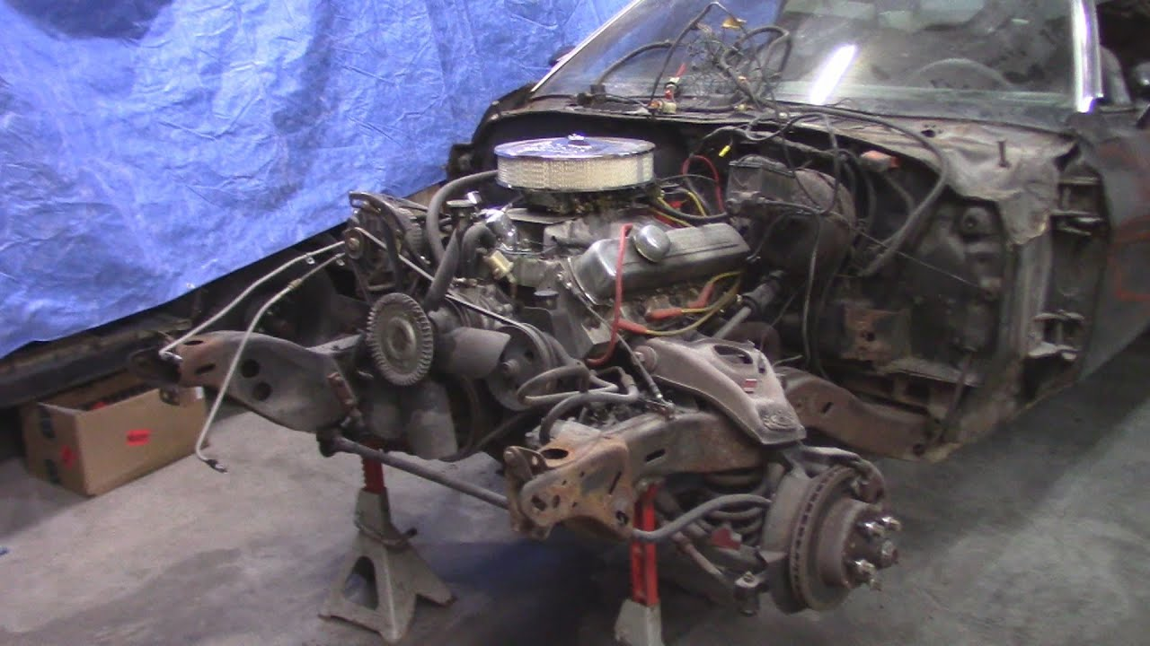 cutlass front clip removal youtube rh youtube com