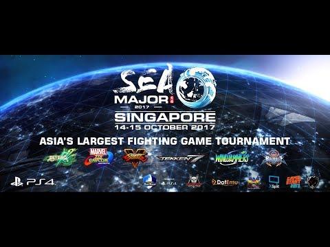 Aris Restreams Tekken 7 - Southeast Asia Majors 2017 Pools [Abridged]
