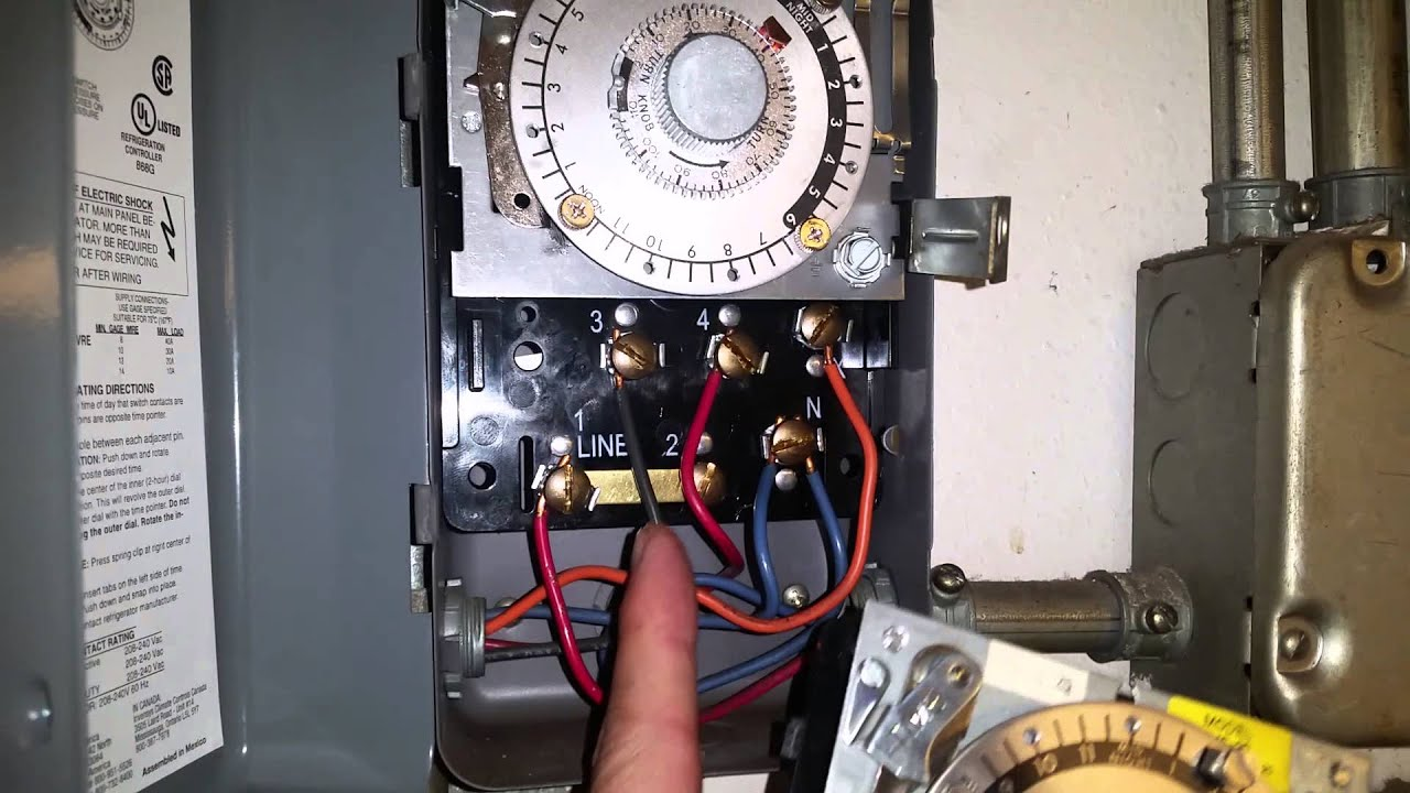 Defrost timer replacement youtube defrost timer replacement sciox Image collections