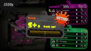 Getting S+ Rank in Splat Zones (NO CRACKS) - Splatoon 2