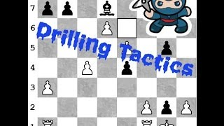 Tactical Chess Drill - Become a tactical ninja like the Masters