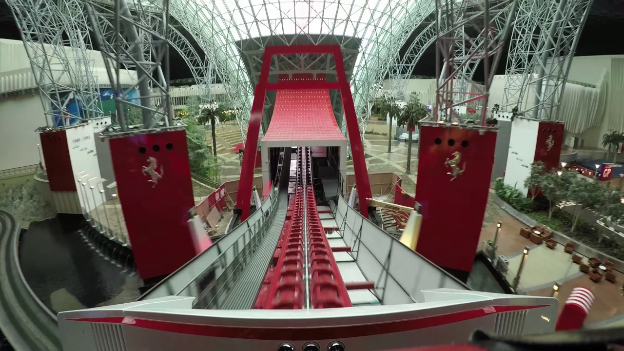 Turbo Track POV - Ferrari World Abu Dhabi - YouTube
