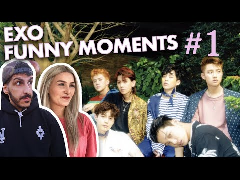 Producer REAGIERT Auf EXO FUNNY MOMENTS | PART 1