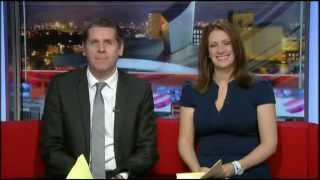 BBC North West Tonight - Heather Stott leaves 2012