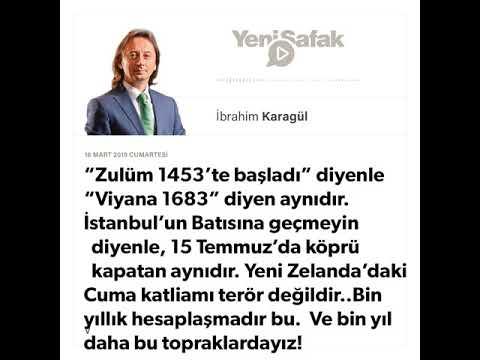 """İbrahim Karagül - * """"Zulüm 1453'te başladı"""" diyenle """"Viyana 1683"""" diyen aynıdır. - 16.03.2019"""