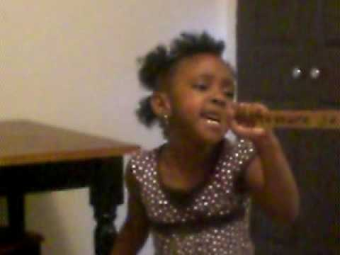 my 3 year old singin YOU COMPLETE ME by KEYSHIA COLE
