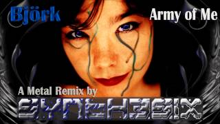 Bjork - Army of Me - By Cyan Synthesix (Metal Remix)