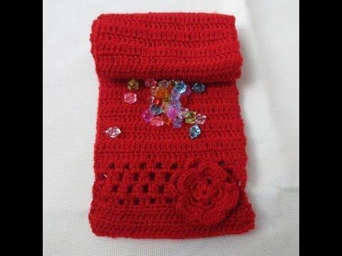 Muestra bufanda roja de niña (marjaz1)