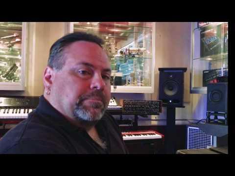 Goliath in the Westlake Pro Keyboard Room