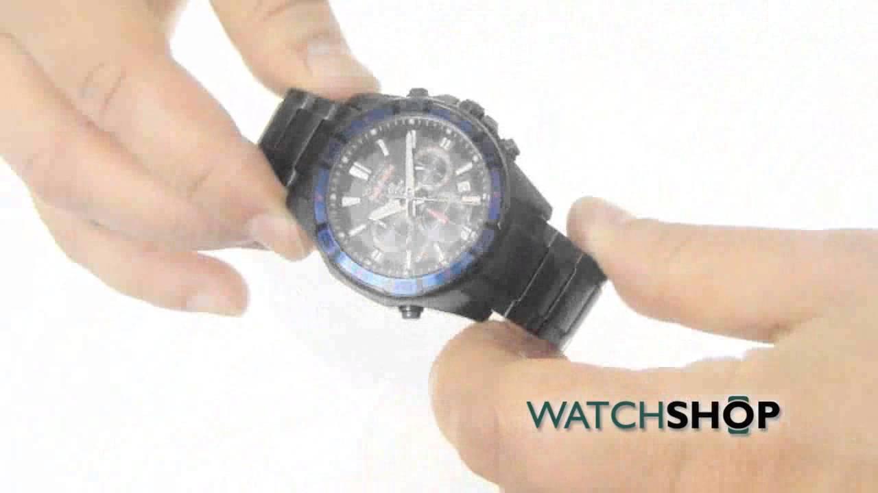 Mens Casio Edifice Red Bull Chronograph Watch Efr 534rbk 1aer Ef 1a