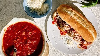 How to Make Meatball Subs | Sunset