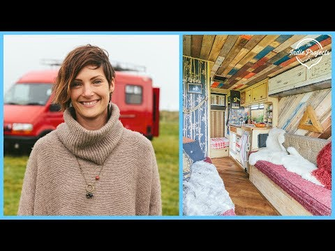 Paying Off Debt by Living in a Van - Converted Ambulance Tour!