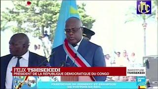 REPLAY - Le président Tshisekedi reprend son allocution après un malaise (deuxième partie)