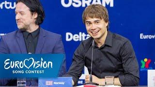 Die Pressekonferenz des zweiten Halbfinals | Eurovision Song Contest | NDR
