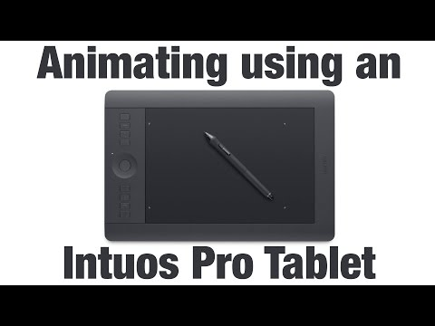 Animation Lesson - Animating Using A Wacom Intuos Pro