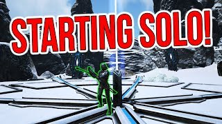 GOING SOLO ON SMALL TRIBES?! | ARK Solo Small Tribes Official PvP - ARK Survival Evolved