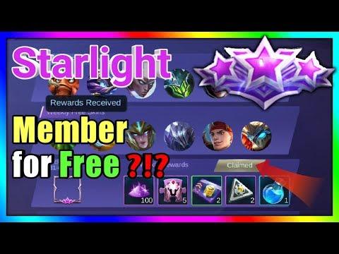 Binigyan ako ng Starlight Member | Free Starlight Member - Mobile Legends: BANG BANG thumbnail