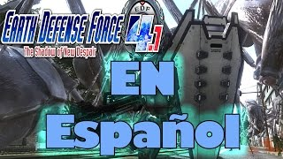 EARTH DEFENSE FORCE|The Shadow of New Despair|ESPAÑOL|PC|