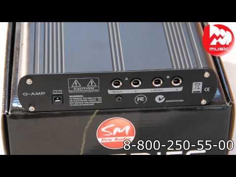 Предусилитель для наушников SM PRO AUDIO Q-AMP