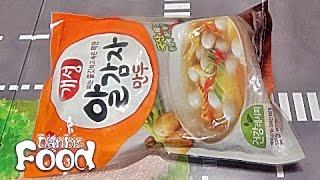 동원 개성 알감자 만두, 쫄깃한 만두피의 방울토마토 사…