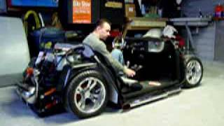 Air Bagged Hot Rod Golf Cart 1948 Ford Coupe