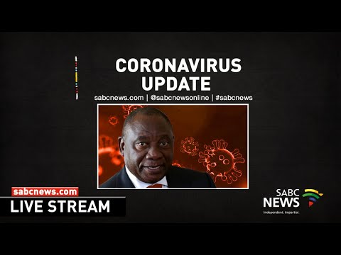 President Cyril Ramaphosa briefs media on #coronavirus