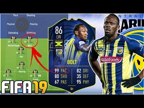 USAIN BOLT IN FIFA 19 CAREER MODE!!! - FIFA 19 Experiment