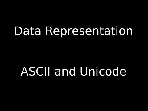 ASCII and Unicode
