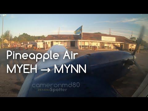 Pineapple Air | Full Flight  | North Eleuthera → Nassau | GoPro Hero 6
