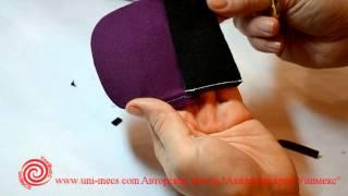 Накладной карман - уроки шитья для начинающих из серии Технология пошива от Академии кроя Унимекс