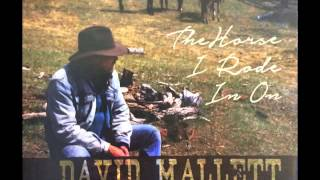 "David Mallett - Second Cup of Coffee (From ""The Horse I Rode In On"")"