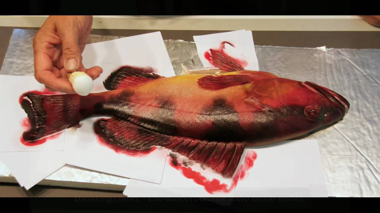 Gyotaku- The Art of the Fish print - YouTube