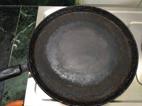 How to Clean Dosa Pan/tawa || How to clean nonstick dosa pan||