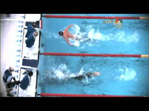 Michael Phelps 7th Gold 2008 Beijing Olympics Swimming Mens 100m Butterfly