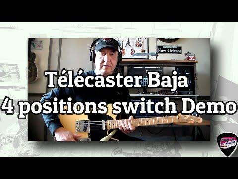 Fingerprint - telecaster Baja - 4 postions switch