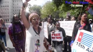 Broken Promise Rally - Benny Wenda Give a Speech September 2015 Part 2