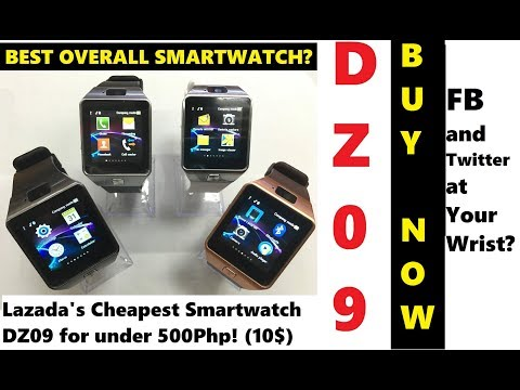 LAZADA UNBOX! DZ09 Smartwatch - Best And Cheapest Smartwatch You Can Buy NOW!