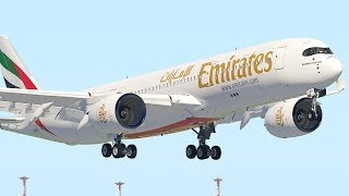 A350 Emirates Amazing Take Off After Refuel (HD) | X-Plane 11