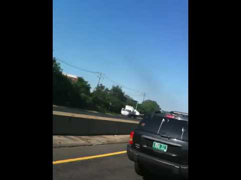 Wires on 128 near route 1 massachusetts