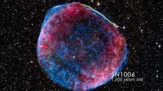 Supernova Remnants Caught Making Cosmic Rays | NASA GSFC Fermi Space Science Video