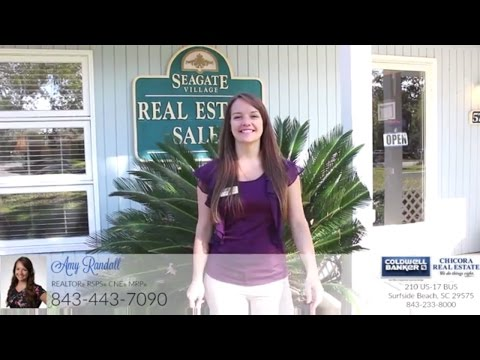 Realtor Amy Randall with Coldwell Banker Chicora at the Seagate Village Office in Myrtle Beach SC