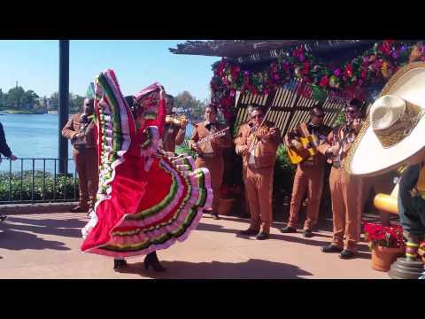 Mexican hat dance epcot