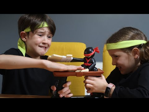 UK Toy Review Slap Ninja Game (Gifted for Review)
