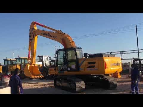Excavator Cdm6240 Youtube