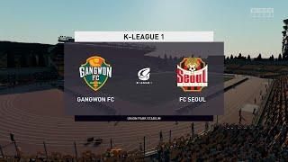 FIFA 20 | Gangwon FC vs FC Seoul - K League 1 | 10/05/2020 | 1080p 60FPS