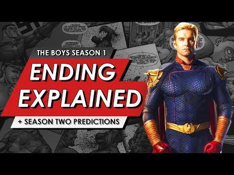 Download The Boys: Season One: Ending Explained Breakdown + Spoiler Review & Season 2 Predictions