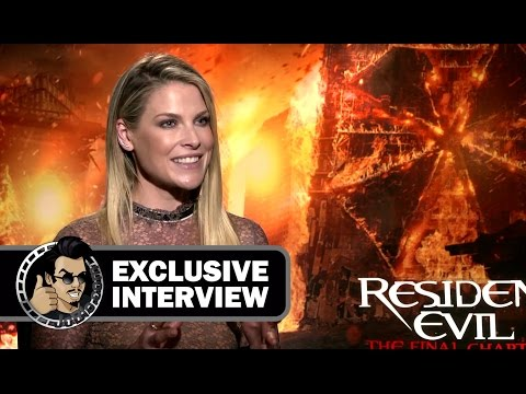 Ali Larter Exclusive RESIDENT EVIL: THE FINAL CHAPTER  JoBlo.com