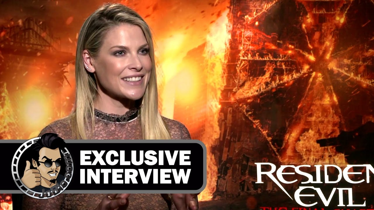 Resident Evil The Final Chapter Interview: Ali Larter Exclusive RESIDENT EVIL: THE FINAL CHAPTER