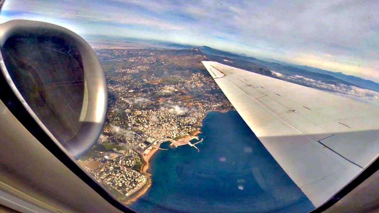 Volotea Boeing 717 Full Flight Athens Santorini